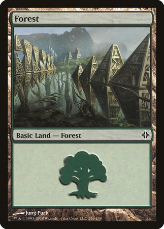 Forest (246) [Rise of the Eldrazi]