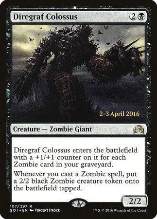 Diregraf Colossus [Shadows over Innistrad Promos]
