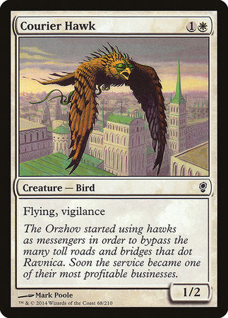 Courier Hawk [Conspiracy]