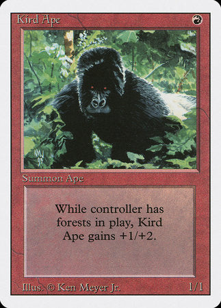 Kird Ape [Revised Edition]