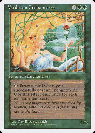 Verduran Enchantress [Fourth Edition]