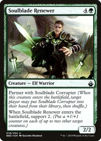 Soulblade Renewer [Battlebond Promos]
