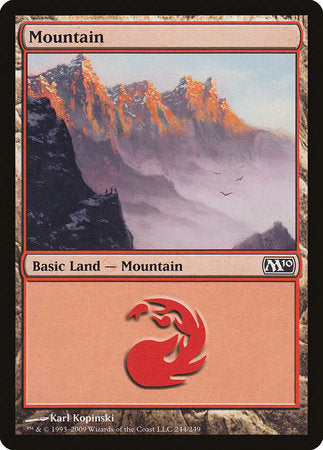 Mountain (244) [Magic 2010]