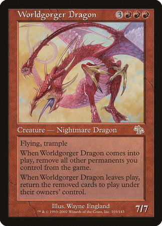 Worldgorger Dragon [Judgment]