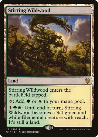 Stirring Wildwood [Commander 2017]