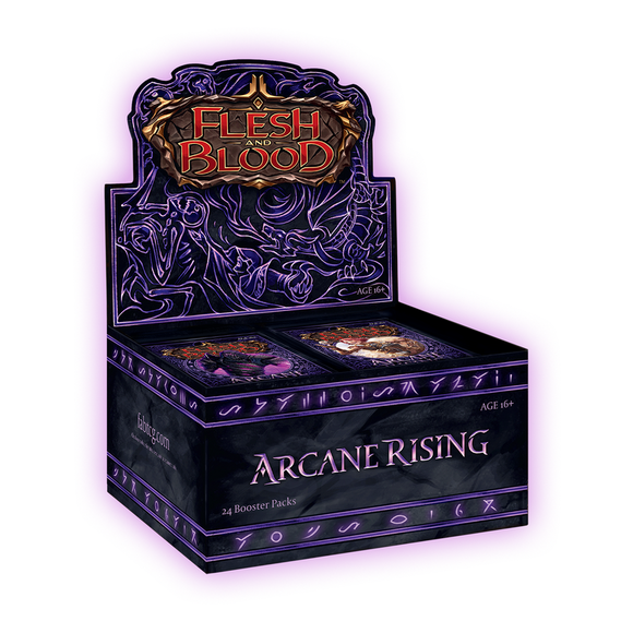 FLESH & BLOOD TCG: ARCANE RISING UNLIMITED BOOSTER BOX (PREORDER)