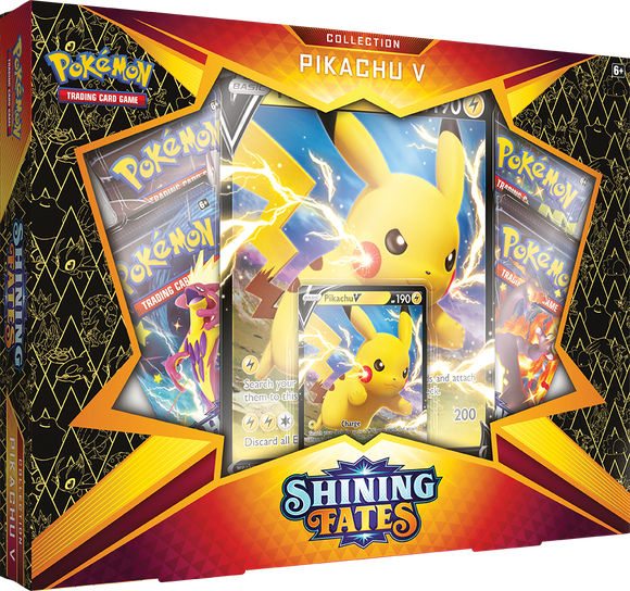 POKEMON: SHINING FATES - PIKACHU V COLLECTION (PREORDER)