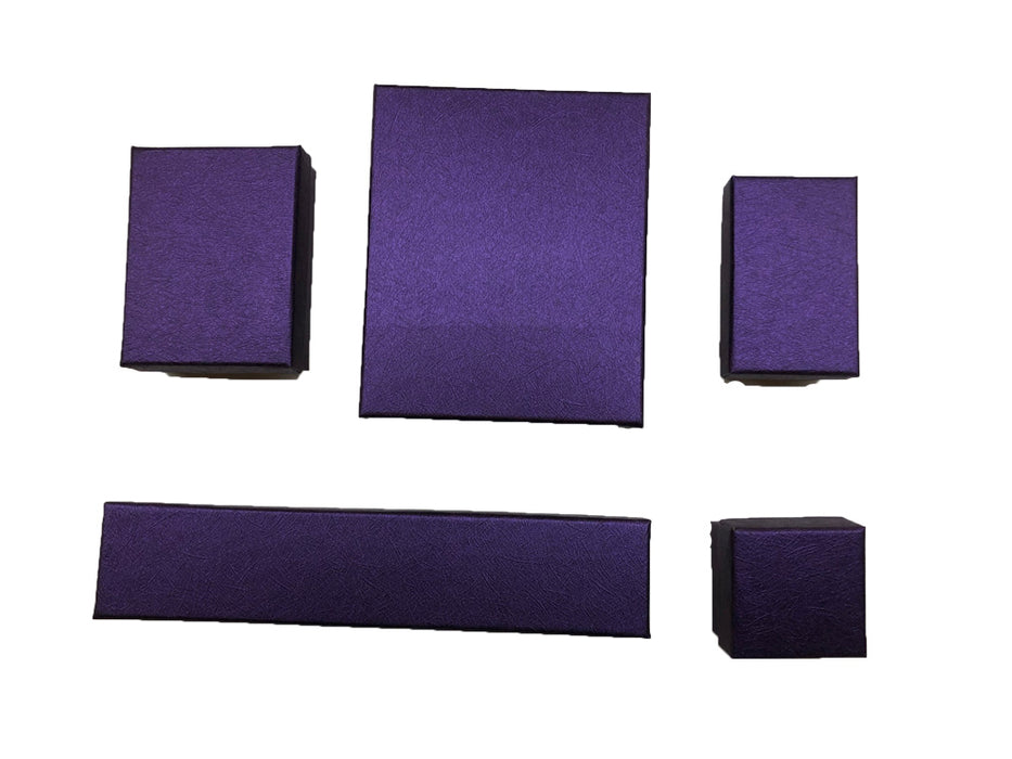 Jewelry Color  Boxes  w/ Poly foam  insert holder  (100pcs). Choice of Colors