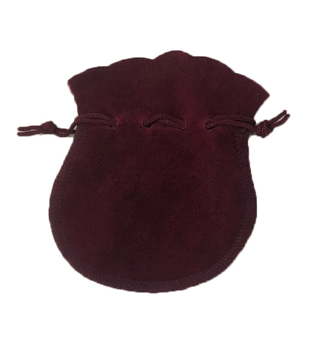 Round Suede Pouch-100 pieces