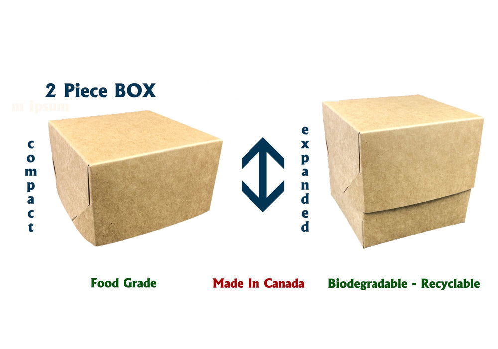 Food Box - Food Packaging - Height Adjustable Box