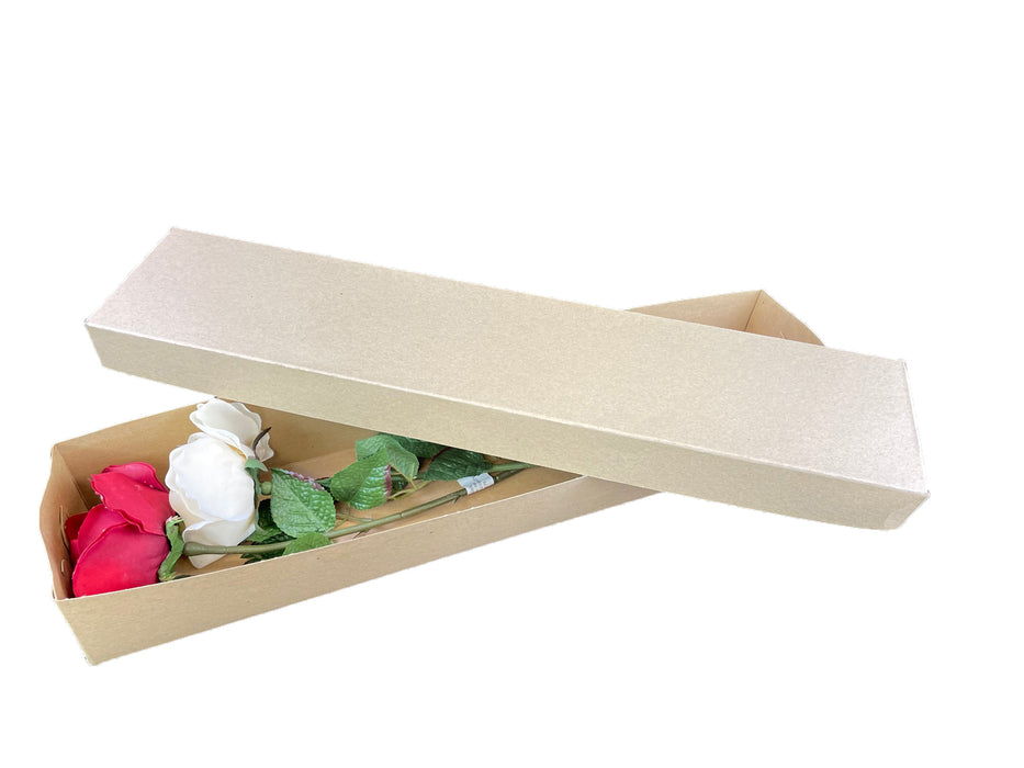 Flower Box - Kraft 12 boxes