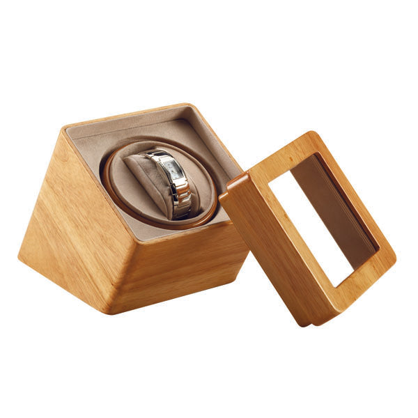 Automatic Watch Winder Box Display case for Single watch
