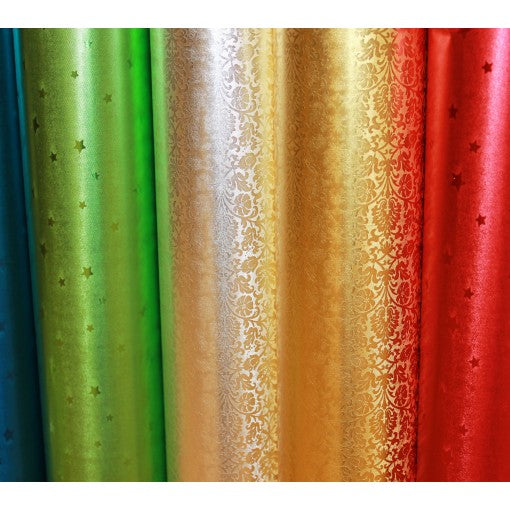 Gift Wrapping Paper - Metallic Collection Bulk 200ft