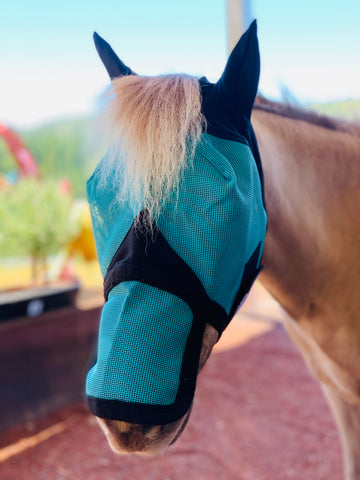 Mini-Pony Ear/Nose Cover Fly Mask
