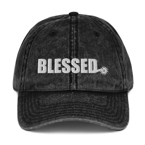 Blessed Spur Vintage Cotton Twill Cap