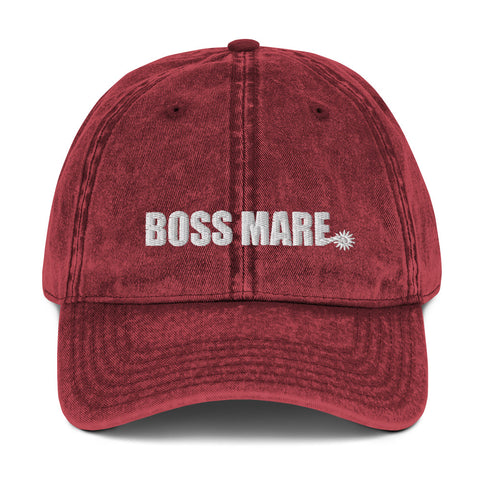 Boss Mare Spur Vintage Cotton Twill Cap