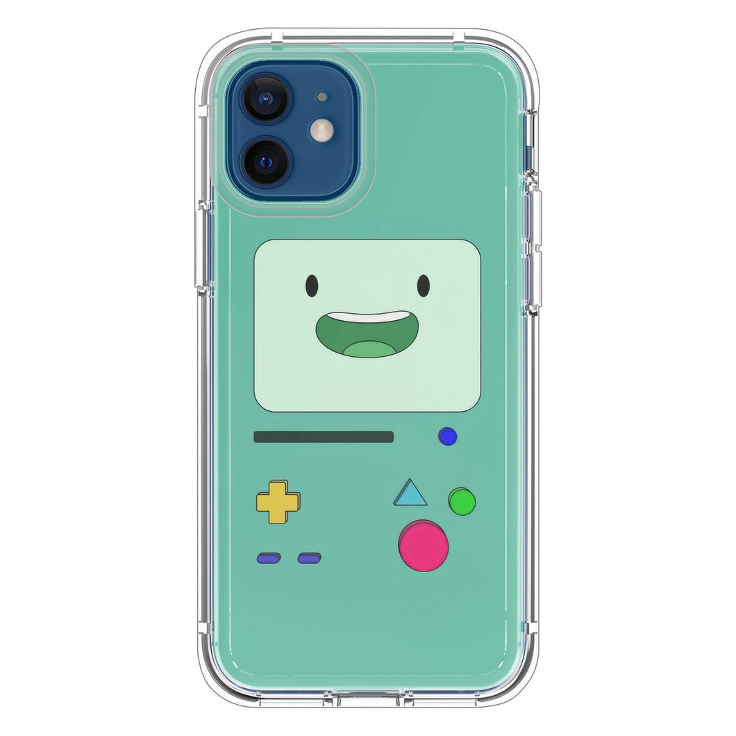 BMO sits and waves AdventureTime