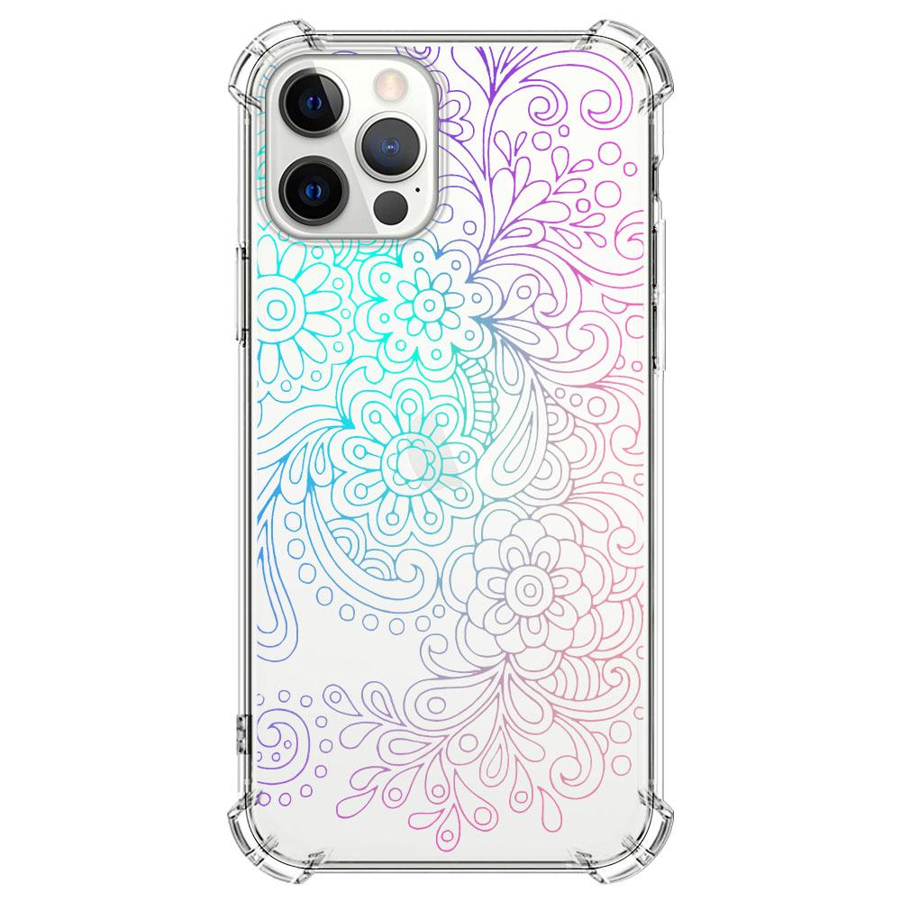 Color of Paisley Pattern