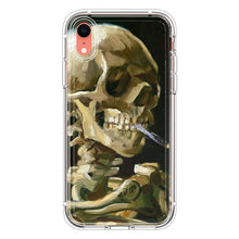 Load image into Gallery viewer, Head of a Skeleton with a Burning Cigarett