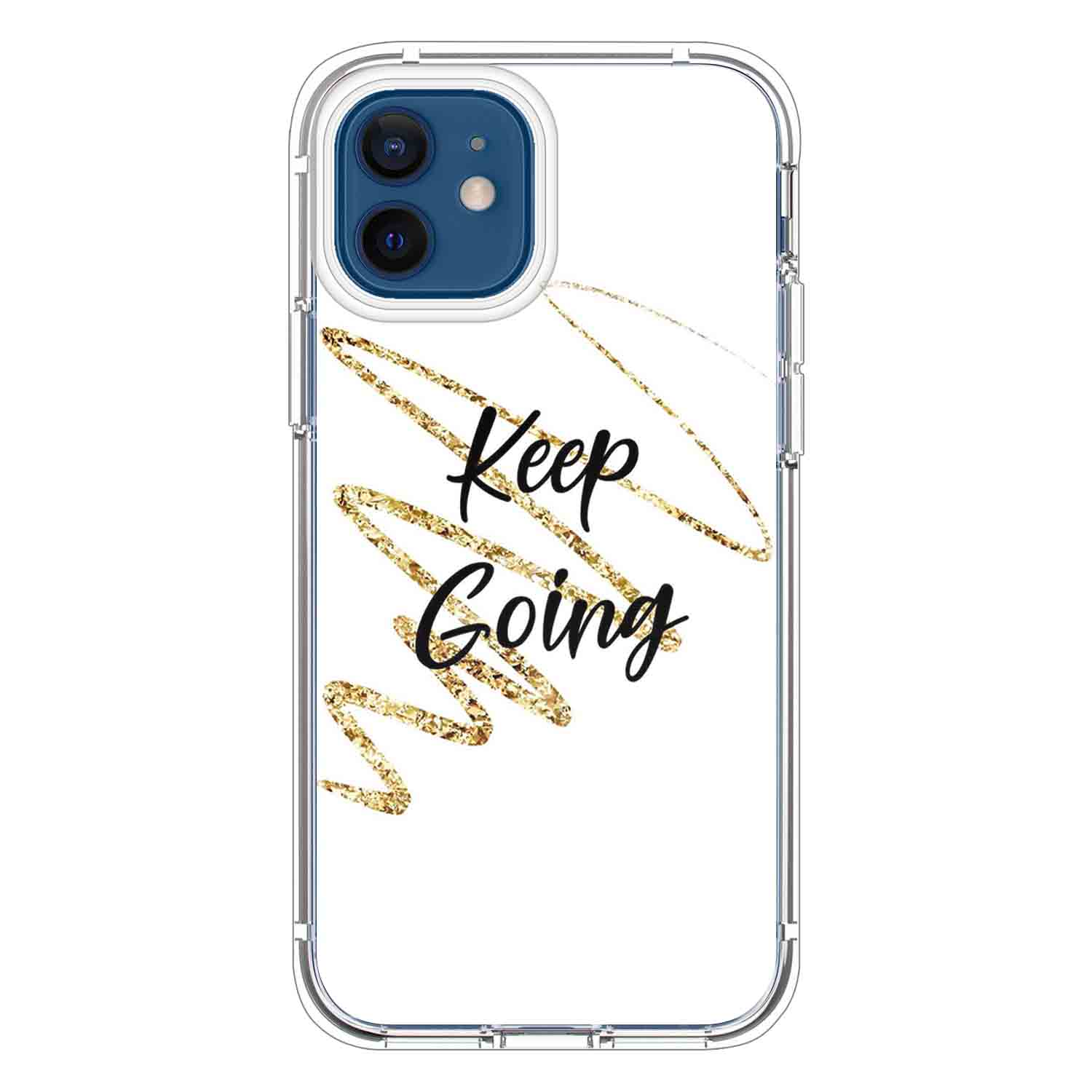Keep going Quotes & Sayings  for iPone 12 11 XR X Case