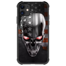Load image into Gallery viewer, Skull and American flag