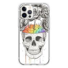 Load image into Gallery viewer, Skull with rainbow brains