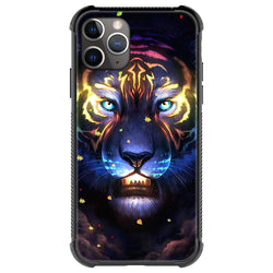 The lighted tiger