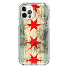 Load image into Gallery viewer, Vintage Grunge Chicago Flag