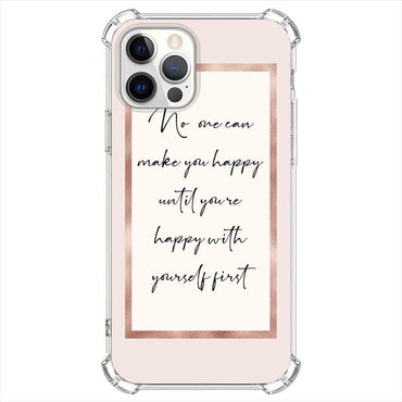 ho one can make you happy Quotes & Sayings  for iPone 12 11 XR X Case