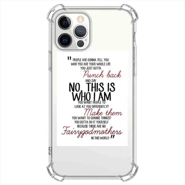 No this is who i am Quotes & Sayings  for iPone 12 11 XR X Case