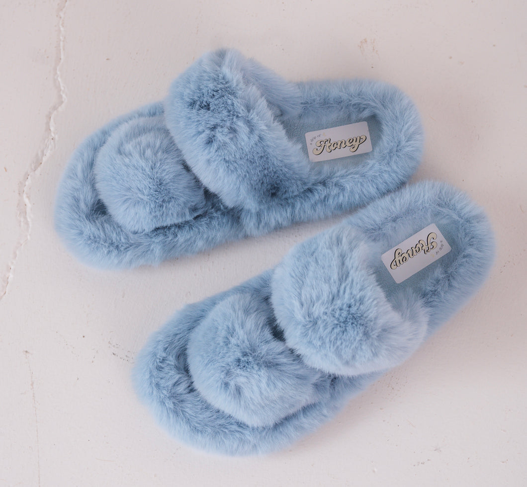 Blueberry Fluffies - Double Strap