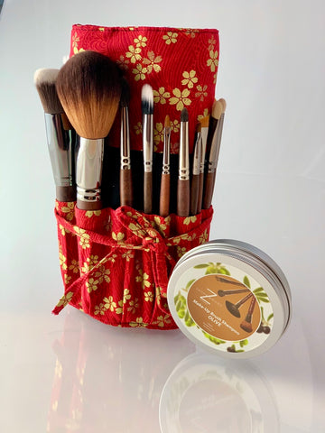 "21pc ""Buccoo Reef"" Pro Brush Set"