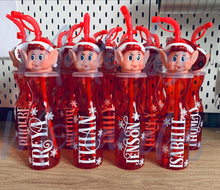 Load image into Gallery viewer, Personalised Christmas Elf Bottle