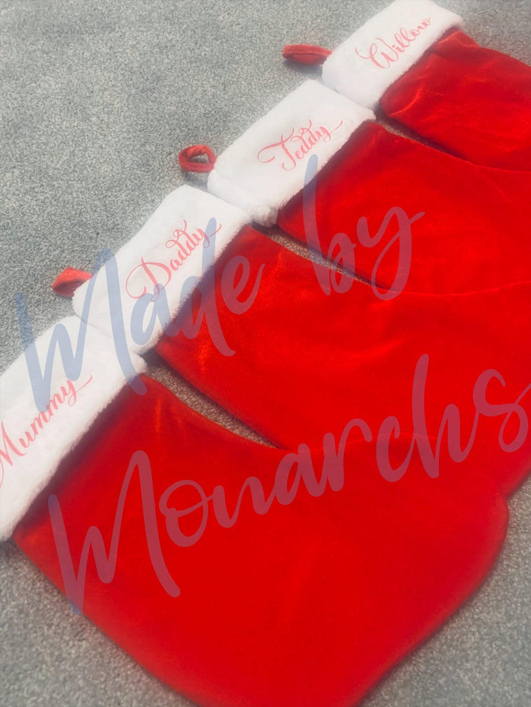 Personalised Traditional Christmas Stockings