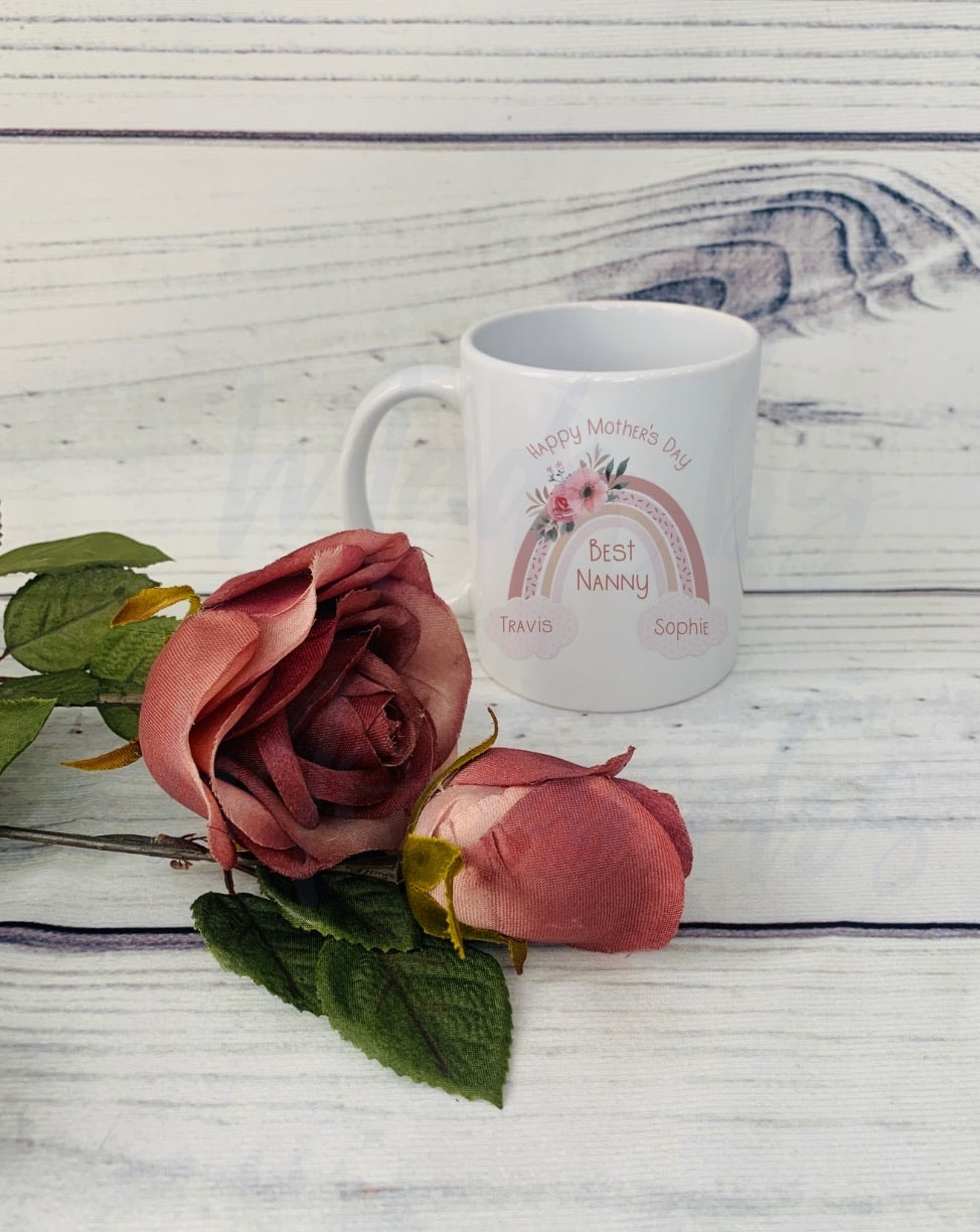 Mother's Day Rainbow Mugs