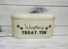 Load image into Gallery viewer, Personalised Pet/Dog Treat Tin
