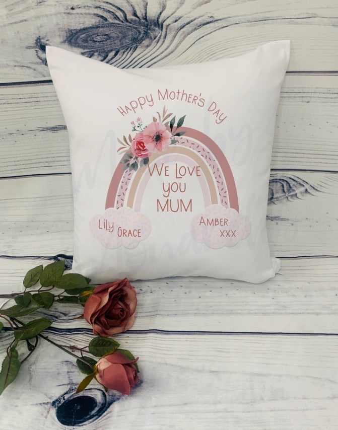 Mother's Day Rainbow Cushions