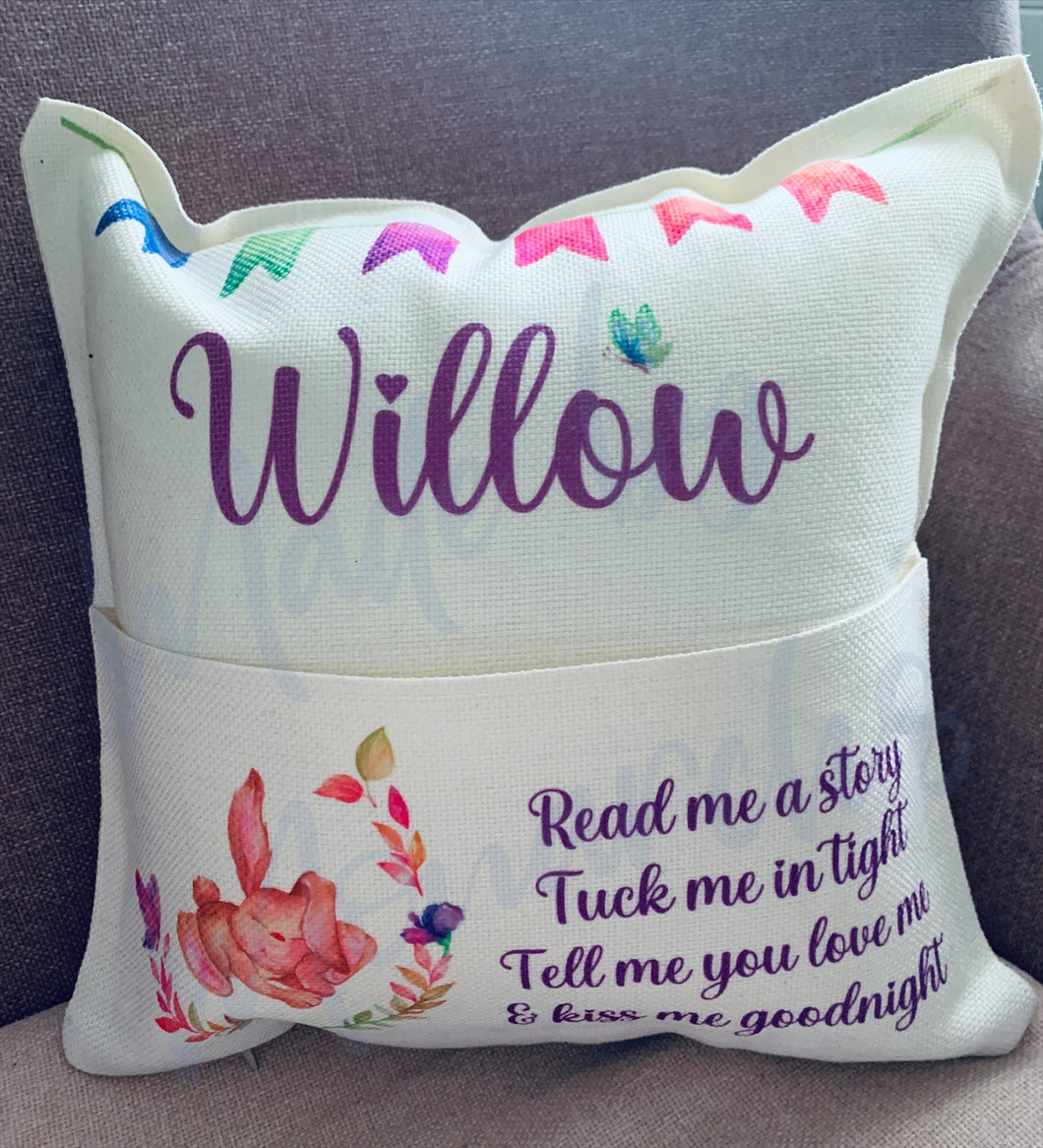 Personalised Story / Reading Cushion