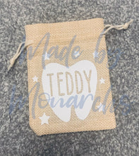 Load image into Gallery viewer, Personalised Tooth Fairy Bag / Pouch