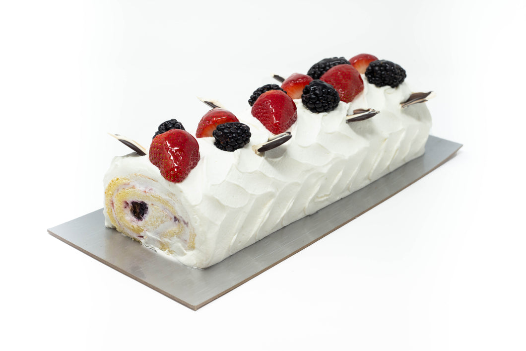 Berry Roll Cake