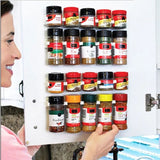 Kitchen Cabinet Mounted Four Level Spice Rack
