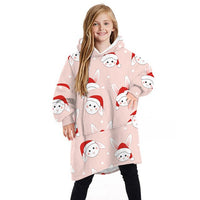 Kids Unique Styled Hoodie Blankets