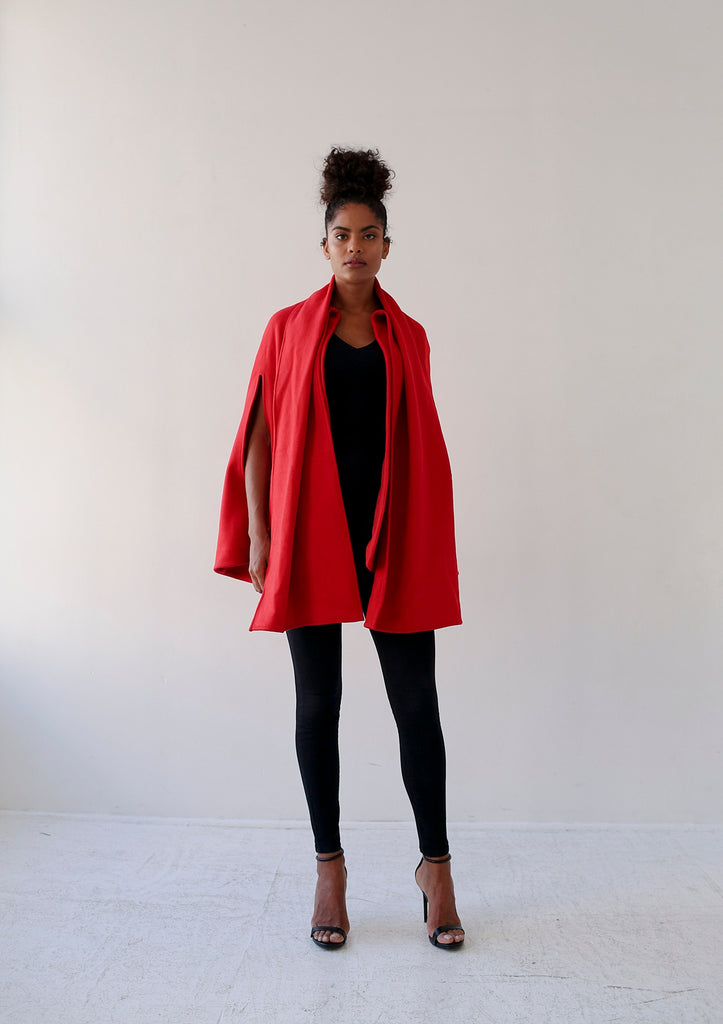 Red cape by Aysha louise