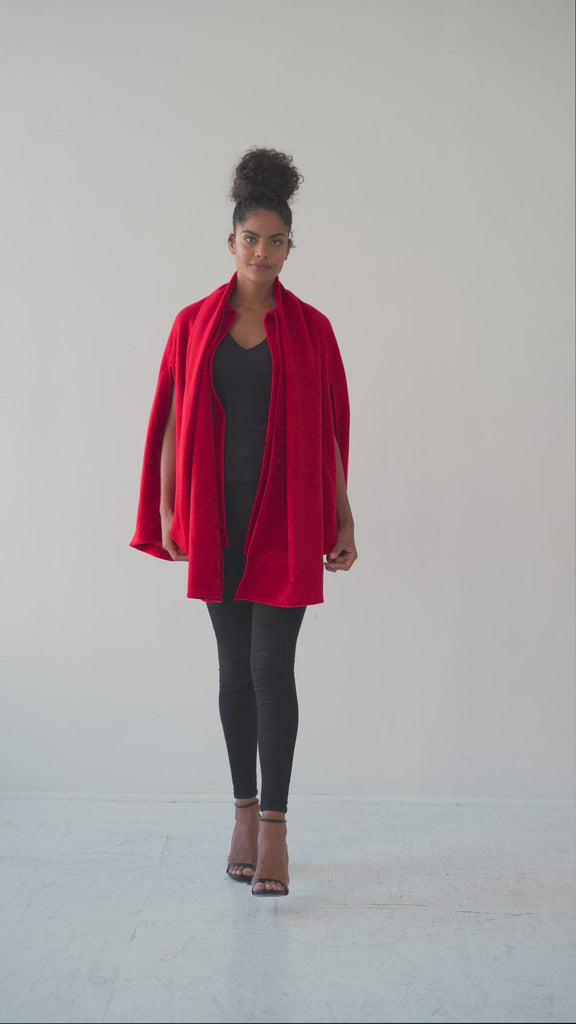 Red cape Aysha louise