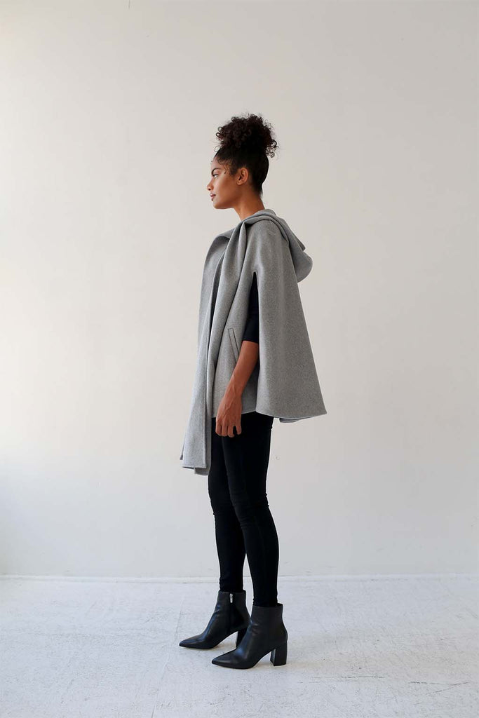 Hooded Scarf Cape - Aysha louise
