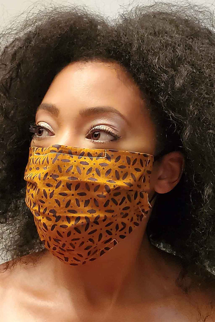 Print Pleated Face Masks - Aysha louise