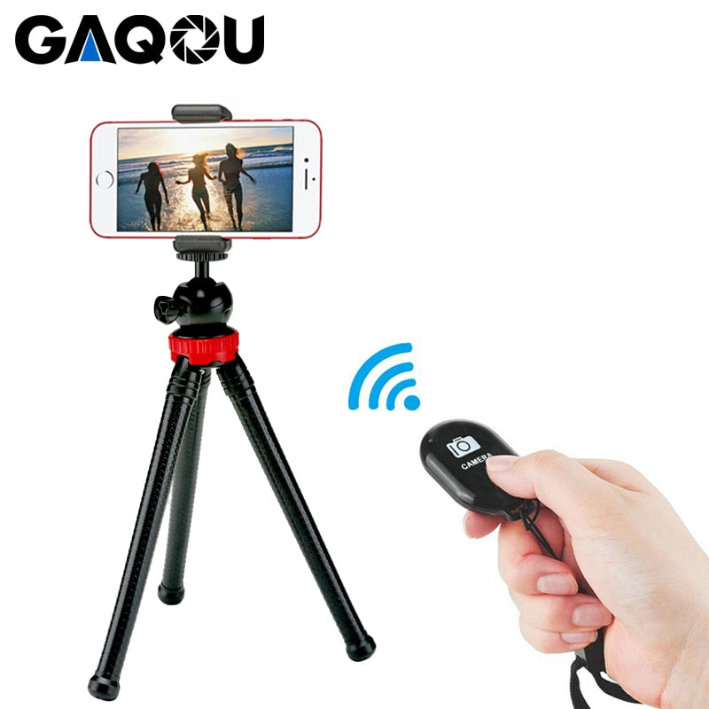 Flexible Mini Tripod With Remote Control