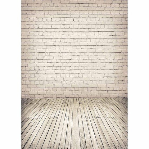 Image of White Brick Wall Backdrop