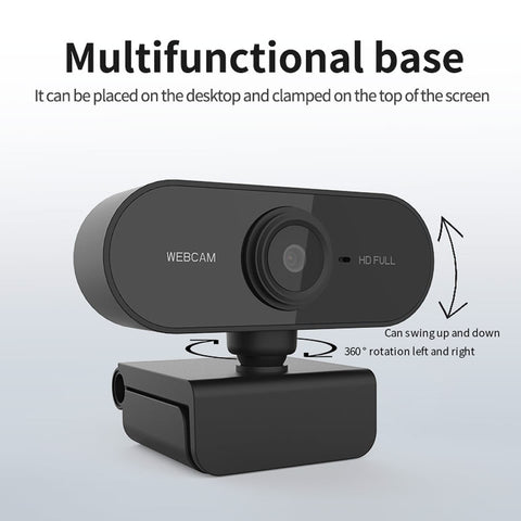 Webcam 1080p With Microphone