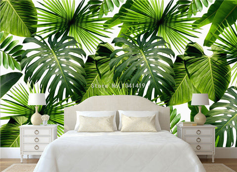 Image of Tropical Plants Backdrop